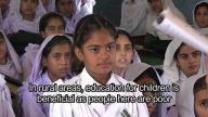 GoodnessTv - Girls get an education in Pakistan