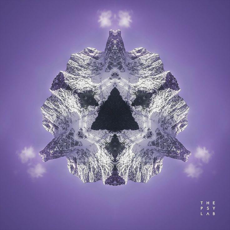 Mandaloscope 96 | Purple Blaze