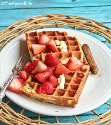 Ricotta-Yogurt Waffles | Recipe | Waffles, Sugar and Yogurt