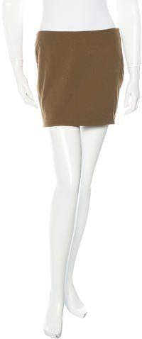 The Row Micro Mini Skirt