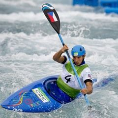 Jiri Prskavec competes during Rio Olympics canoe single K1 men's semifinals