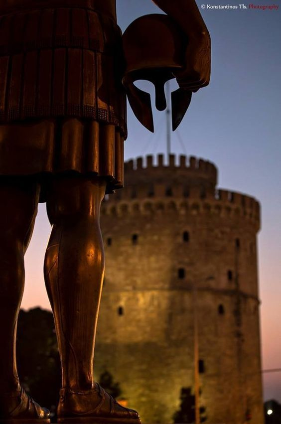 Statue of Philip II, Thessaloniki, Macedonia Greece
