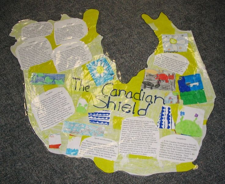 Canadian ShieldGrade 4 Social Studies Canada, Canadian Shields, Canadian Curriculum, 6Th Grade, Education Ideas, Canadian Government, Social Study, Canadian Regions, Canadian Physical Regions