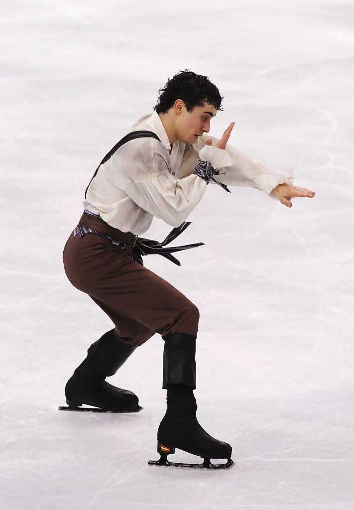 Javier Fernandez Photos: Figure Skating - Day 7
