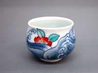 色鍋島焼(伊万里)   窯元:魯山窯