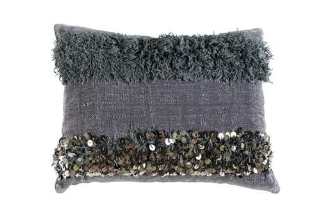 TIGMI TRADING - Over-dyed Indigo Handira Cushion $165