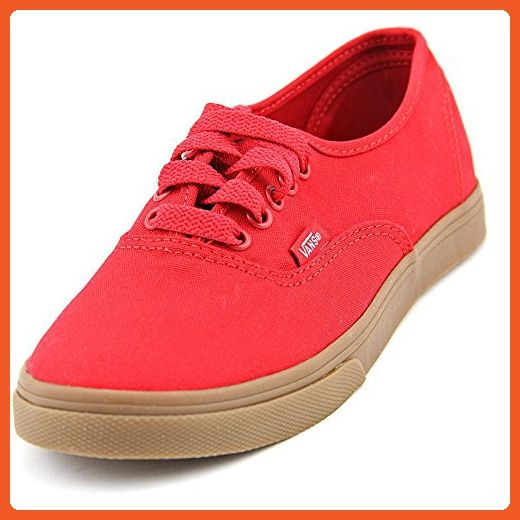 Vans Authentic Lo Pro Women US 6 Red Athletic Sneakers Shoes - Sneakers for women (*Amazon Partner-Link)