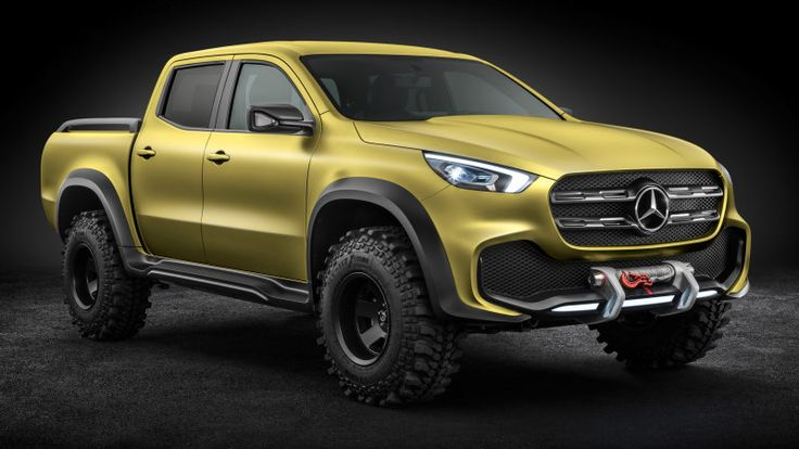Everything we know about the 2018 Mercedes-Benz X-Class - Autoblog