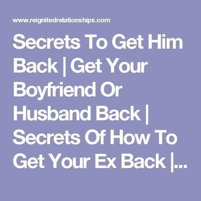 how to get back together with your ex girlfriend