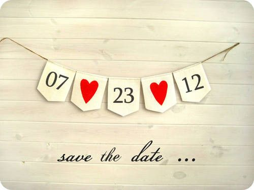 Perfekt Cute Save The Date Idea From BrightBride | Etsy, Could Be Repeated In The  Decoration