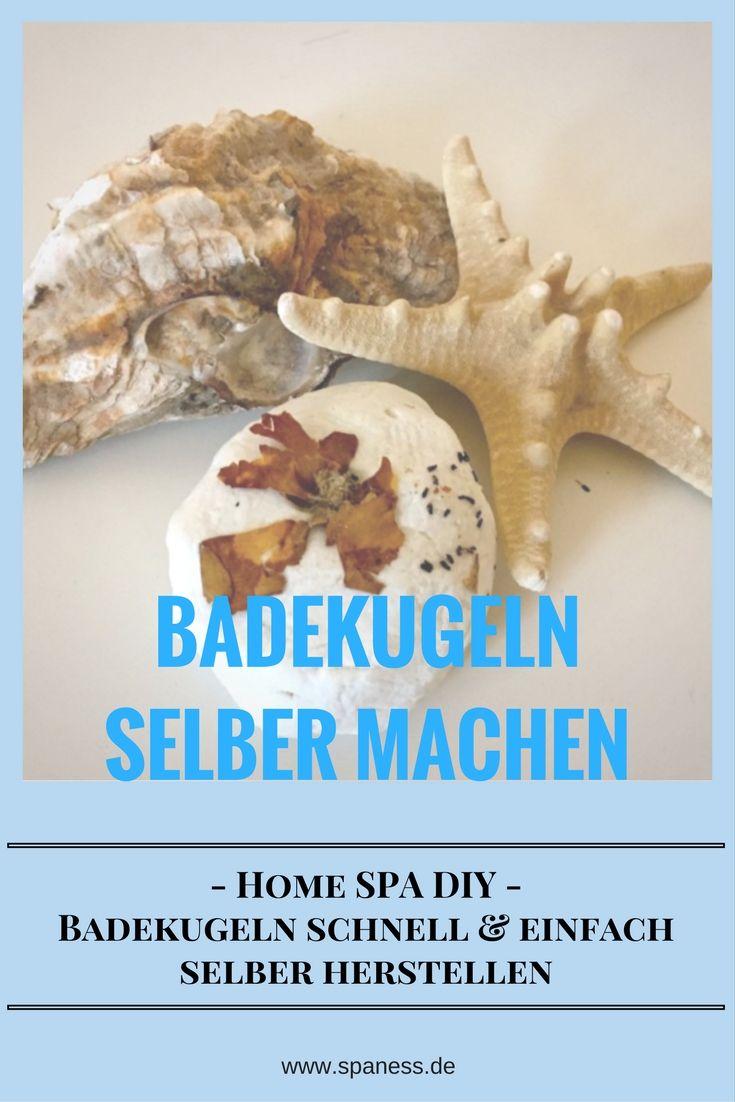Badekugeln selber machen! Leichtes Home Spa DIY.