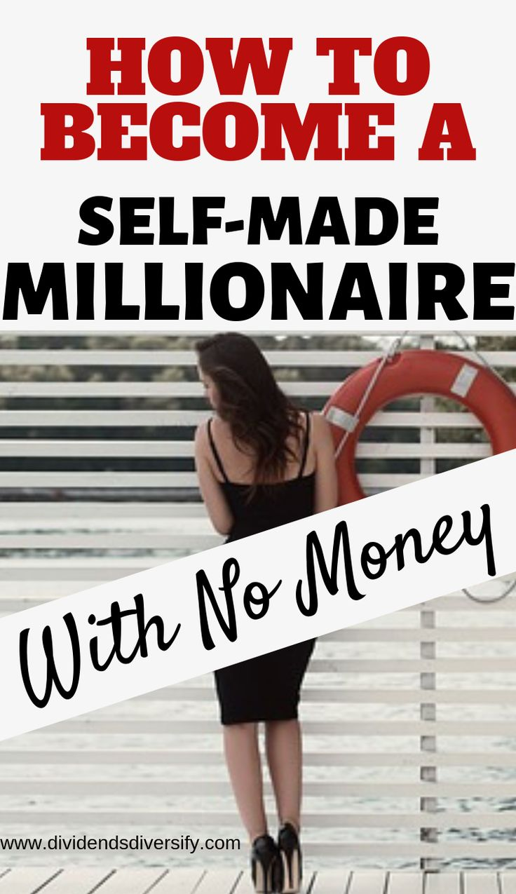 Looking for ways to build your finances, start making money and achieve financial independence? We live in the best possible times to become a self-made millionaire with no money. Here's how exactly to go about it. #money #finance #selfmademillionaire #howtobecomeamillionaire #millionaireby30 #millionairemindset