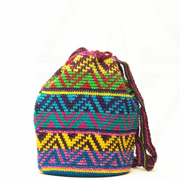 Mini Handwoven Mochila Bag - Wayuu Tribe