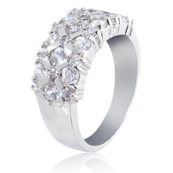 Silver Plated Crystal Zircon Rhinestone Ring  for $19.50 https://www.ioffer.com/i/silver-plated-crystal-zircon-rhinestone-ring-592378433
