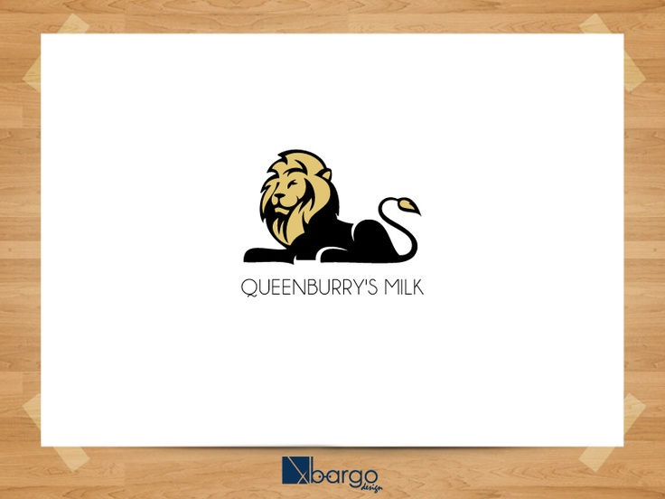 Desain Logo Queensburry Milk 1
