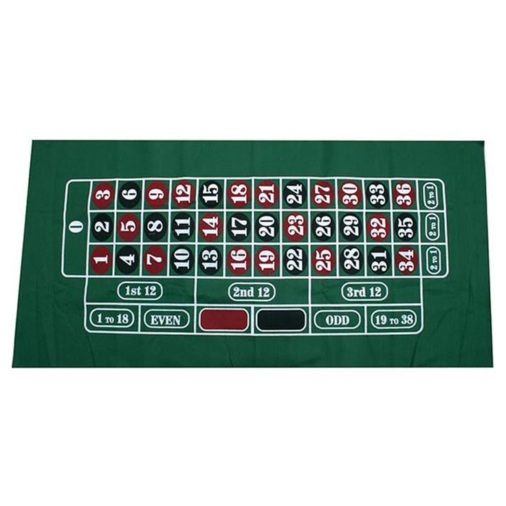 1 Piece 180*90cm Russian Roulette Table Cloth Poker Table Cloth 500g Good Quality
