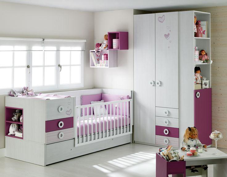 Mejores 35 im genes de mueble beb ros mini 2014 en for Mueble que se convierte en cama
