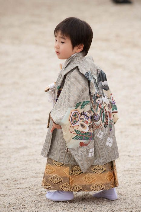 little Japanese boy