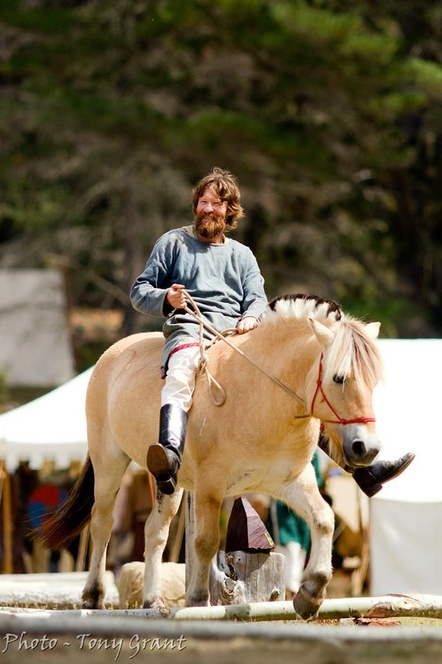 John in the horse comp at NEMAS Gathering 2016