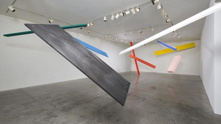 Art Review: Step inside Joel Shapiro's fascinating work at L.A. Louver
