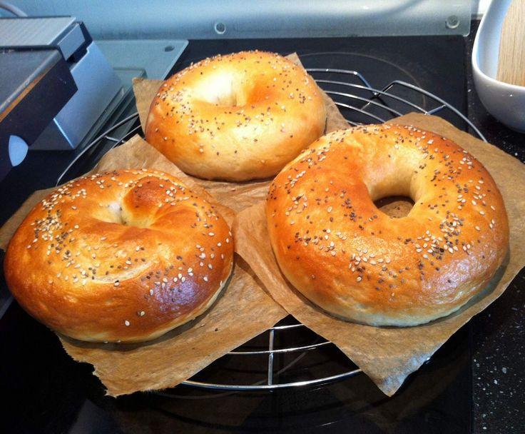 Rezept Bagels ***easy mit dem Varoma*** von hasi0511 - Rezept der Kategorie Brot & Brötchen