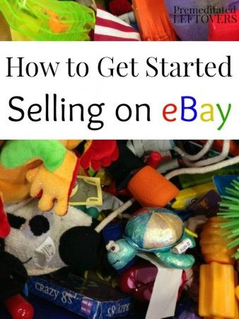 How to Start Selling on eBay, including tips on starting your eBay account, deciding what to sell on eBay, and how to start your listing on eBay.