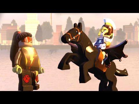 JOLT VS ARES   LEGO BATTLE LEGO MARVEL'S AVENGERS