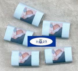 25 x Schoko-Mini-Naps Streudeko GIRL/BOY