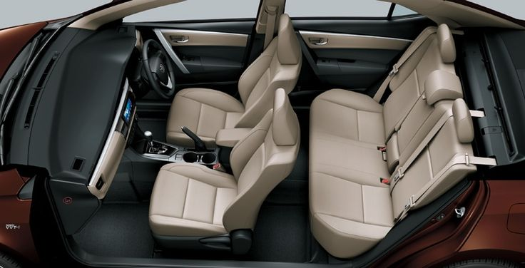 All New Corolla Altis 1800 G Seat