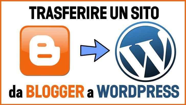 Come passare da Blogger a Wordpress. La Guida Completa Come passare da Blogger a Wordpress? La migrazione in se non è qualcosa di difficile da effettuare ma bisogna curare alcuni aspetti importanti per non compromettere l'indicizzazione acquisita con il  #blogger #blogspot #wordpress
