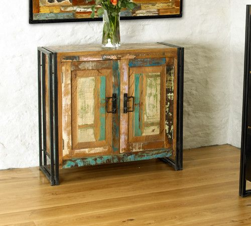 Beautiful Reclaimed Urban Chic Small Sideboard - Shop Now. – Chattels