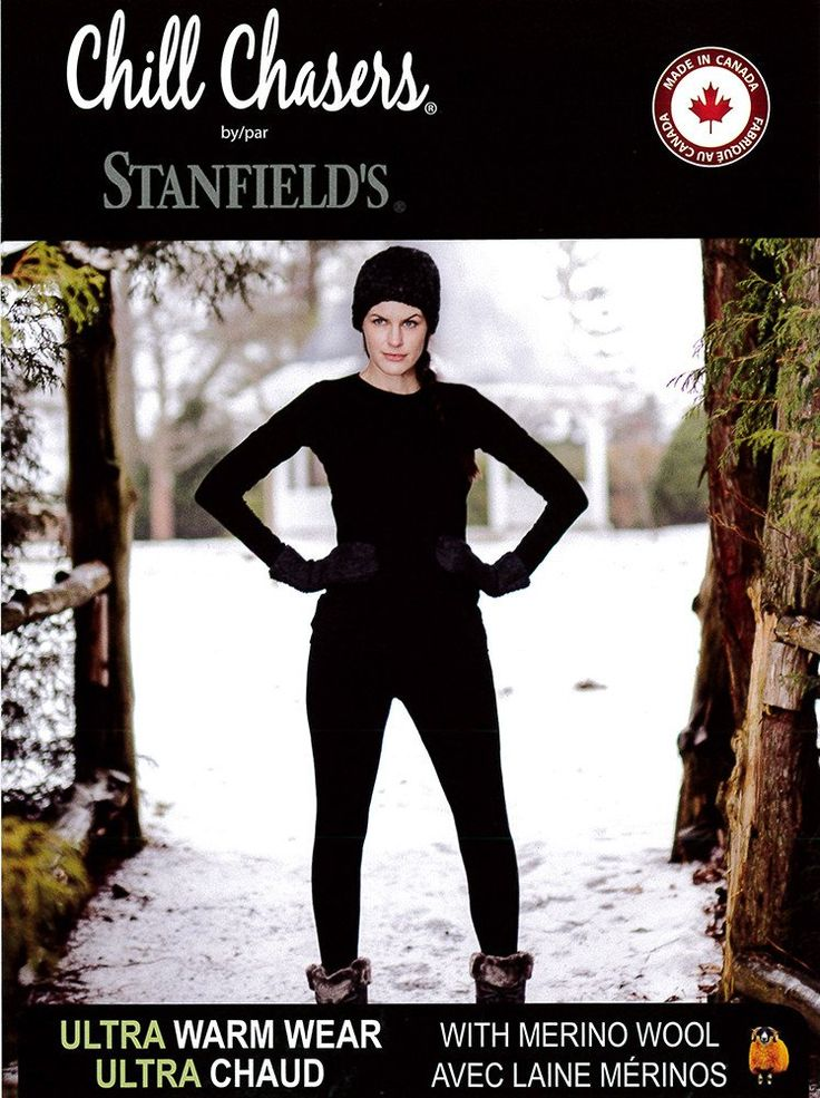 Chill Chasers by Stanfield's are fashionable, functional, flattering &amp…