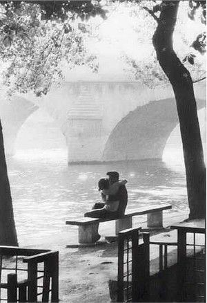 Willy Ronis Pont Royal 1957