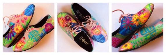 HandPainted Shoes. by JenniferRaeArtwork on Etsy, $55.00