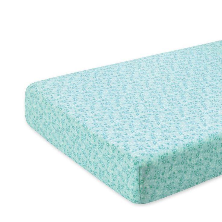 Groen hoeslaken voor een bed van 70x140cm Lizie darling van het merk bemini (vroeger babyboum). Het hoeslaken is soepel en rekbaar vervaardigd uit jersey katoen en is geschikt voor elke matras dikte.