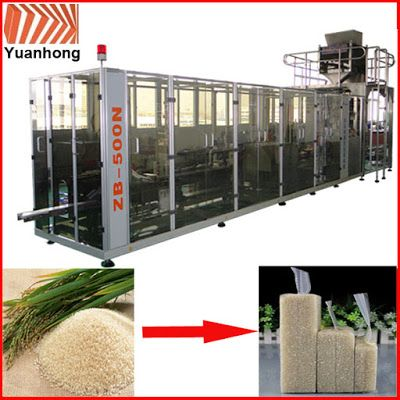 Automatic Packing Line For Industry Automation in the future: Granules brick bag vacuum automatic packing machin...