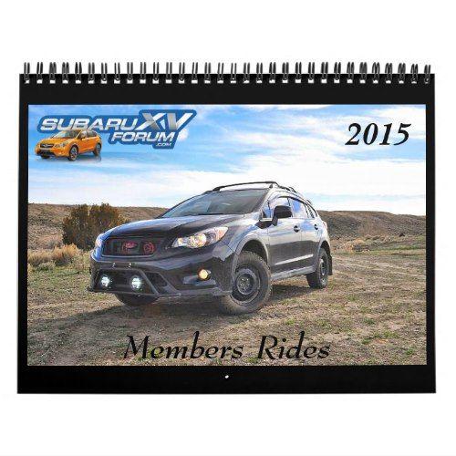 subaruXVforum.com 2015 Calendar