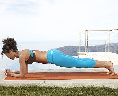 Front plank - An Easy Belly-Blasting Workout - Health Mobile