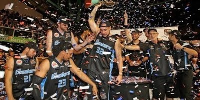 NZ Breakers - 2010/11 iiNet NBL Champions. I cannot think of a time I'd been more proud to be involved with the team.