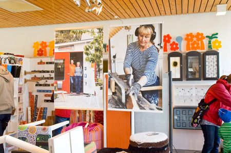 Anna Agger is a great designer who builds furniture for Svennson in Lammhult (among others). She has her shop in #Skillinge, #österlen, South of #sweden.