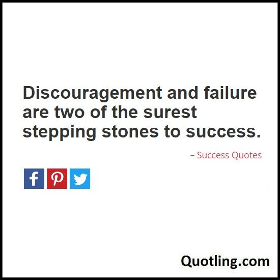 Quotes On Success And Failure: 17 Best Images About Success Quotes On Pinterest