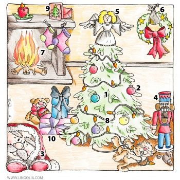 Noël – Vocabulaire