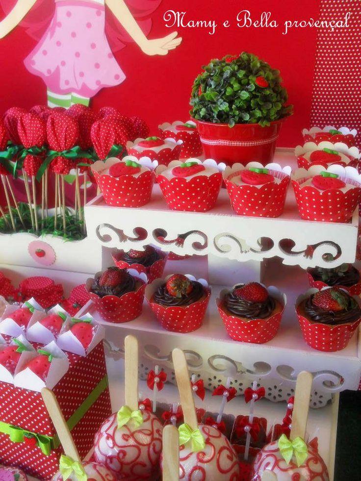 Mamy e Bella provençal: Festa Da Moranguinho