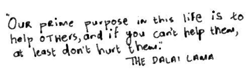 Don't hurt themDalai Lama, Quote
