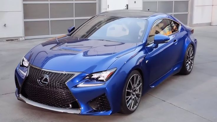 New 2015 Lexus RC F