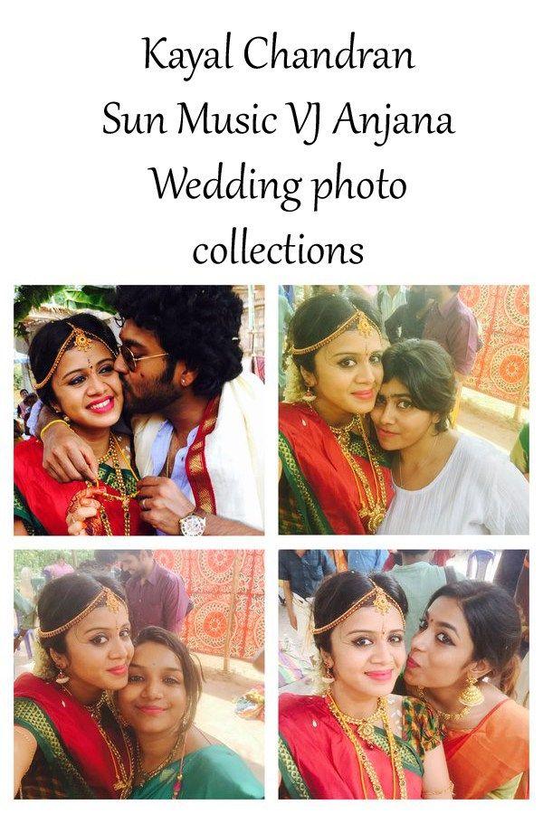 Kayal Chandran Sun Music VJ Anjana Marriage stills     http://tamilcinema.tamilcineworld.com/news/kayal-chandran-sun-music-vj-anjana-marriage-stills/