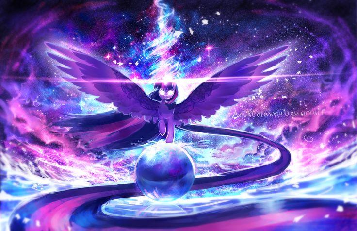 MLP Twilight Sparkle: Equilibrium by AquaGalaxy.deviantart.com on @DeviantArt