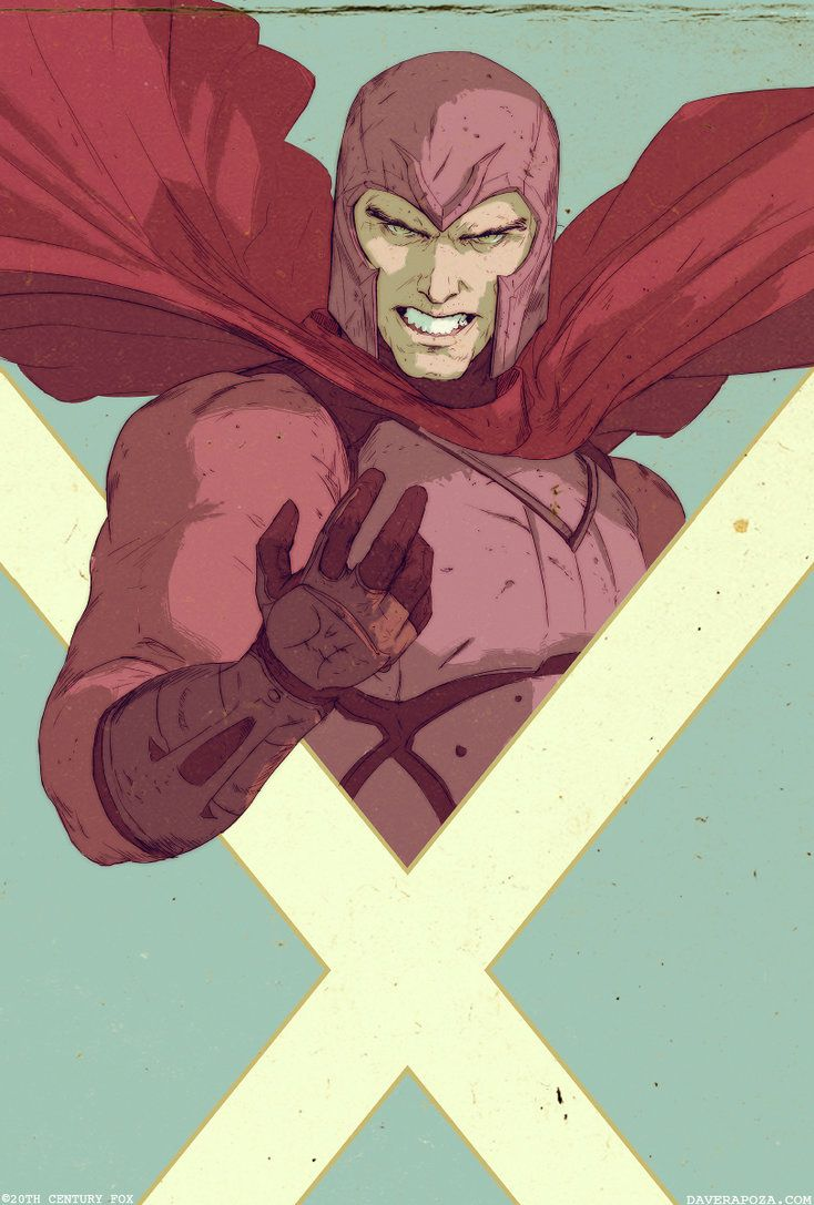 Magneto XMen Days of Future Past by DavidRapozaArt on deviantART