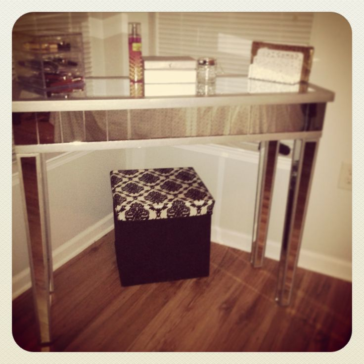 Vanity Table From HomeGoods.