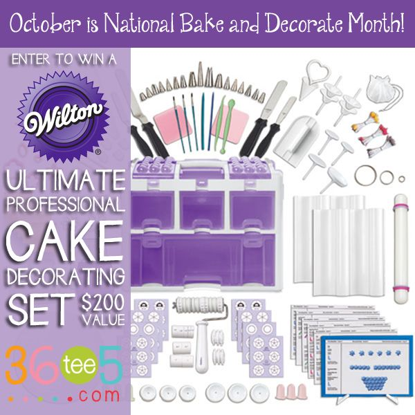 12 Easy Steps To Prepare A Cake For Decorating And Enter To Win A Wilton Ultimate
